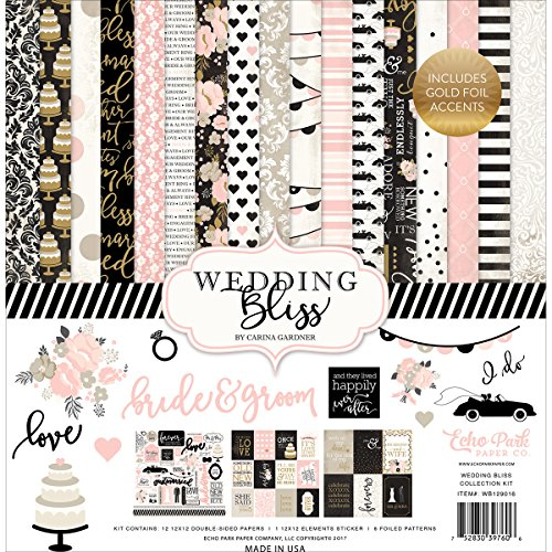 Echo Park Paper Company Wedding Bliss Collection Kit by Echo Park Paper Company