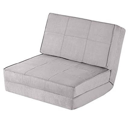 Amazon.com: Giantex 5-Position Adjustable Convertible Flip Chair ...