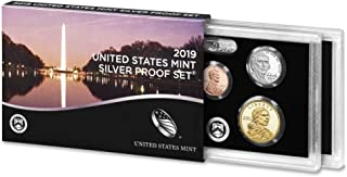 2019 S Silver Proof Set United States Mint OGP (10 coins)