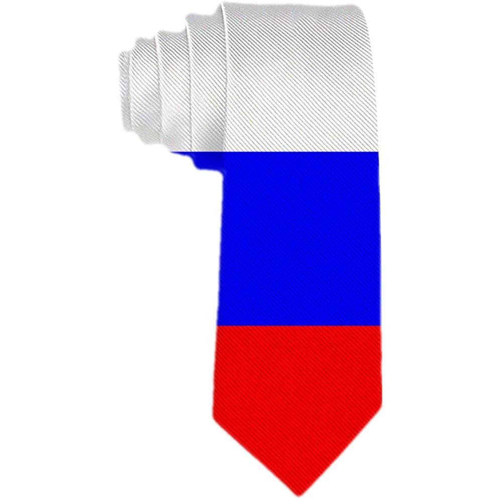 Hombres S Corbata Bandera De Rusia Corbata De Seda De Poliéster ...
