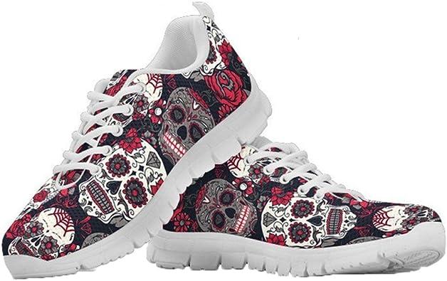 chaussures tête de mort homme femme 4