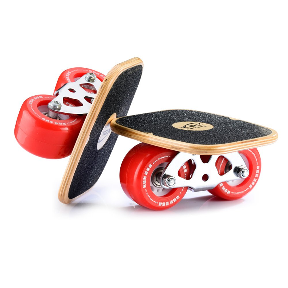 11185a0e2 Drift Skate Plates with High Quality Pu Wheels ABEC-7 Bearings ...
