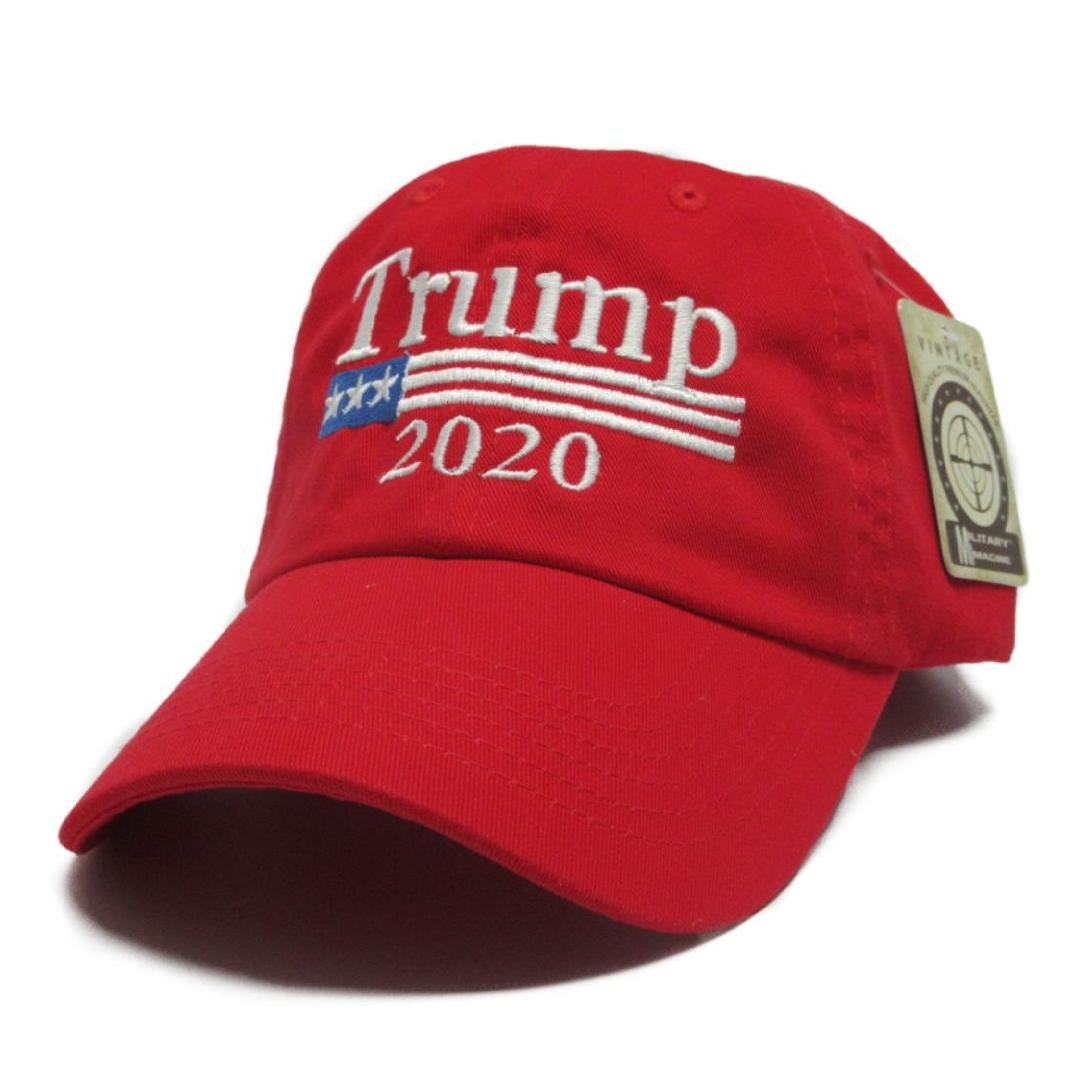 Trump 2020 Keep America Great MAGA Hat Cap Made In The USA! (Red)