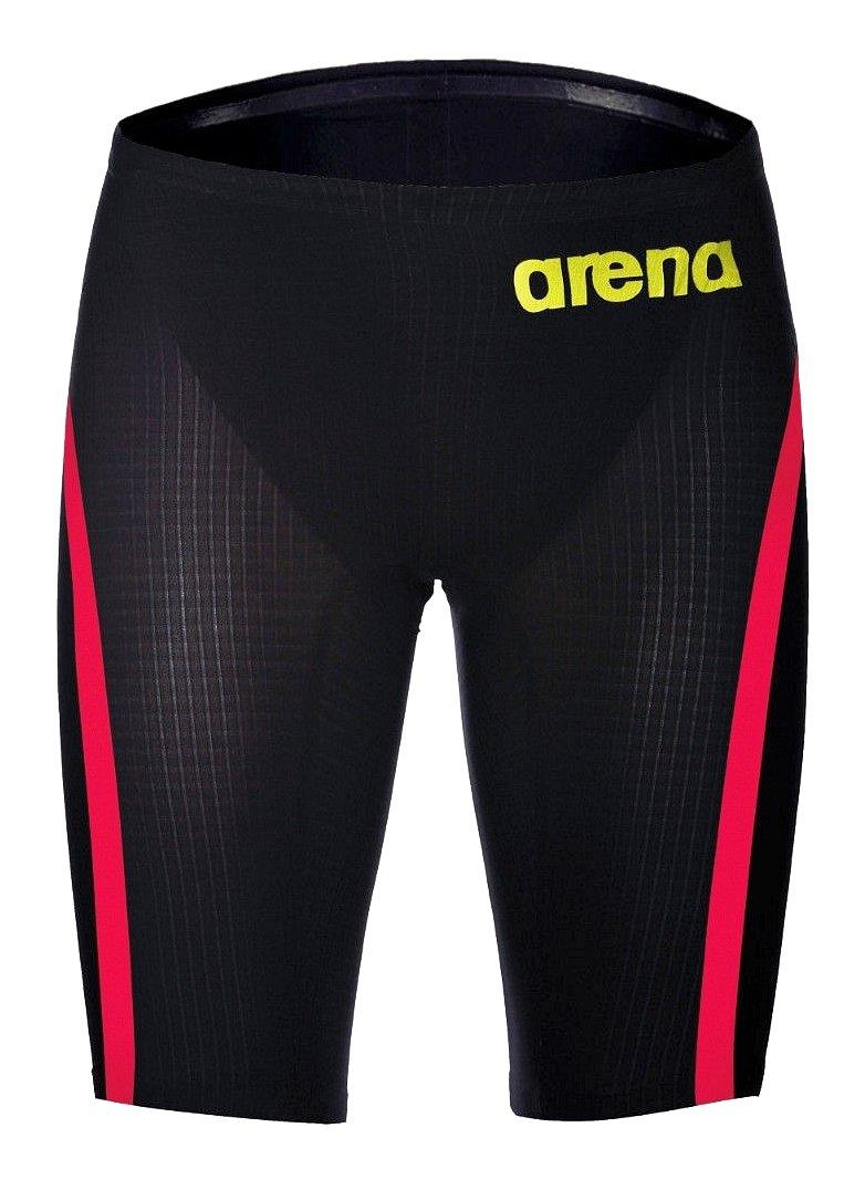 ARENA POWERSKIN CARBON FLEX VX JAMMER (Dark Grey/Fluo Red, 28) by Arena