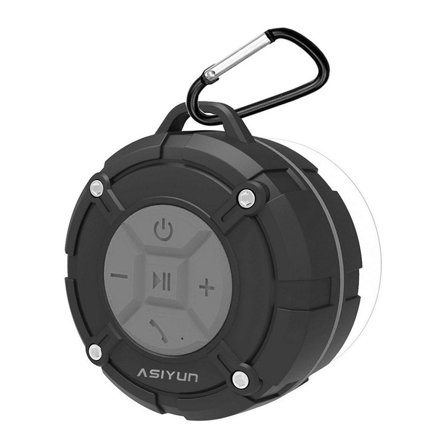 ASIYUN Portable Waterproof Wireless Shower Speakers with...