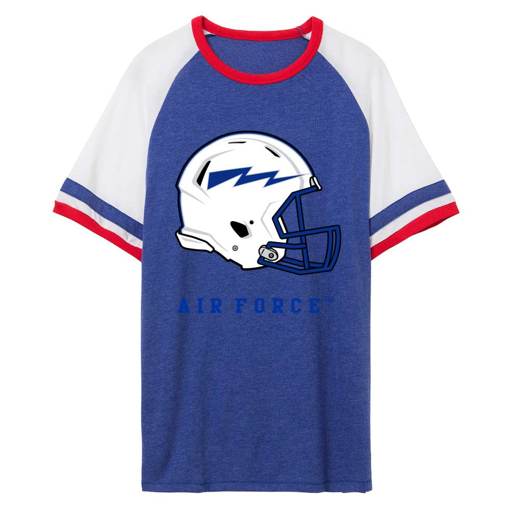NCAA Air Force Falcons PPAF20 Unisex Slapshot Vintage Jersey T-Shirt