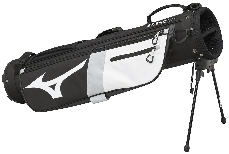 Mizuno 2018 br-d2 Carry Golf Bag  ブラック/ホワイト B074F992NN