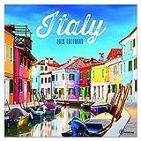 "Time Factory Italy 12"" x 12"" January -December 2019 Wall Calendar (19-1180)"