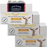 Ovine Placenta 80000 60Capsules Made in New Zealand Sheep_Placenta Extract Nutritional Supplements (3 Pack)