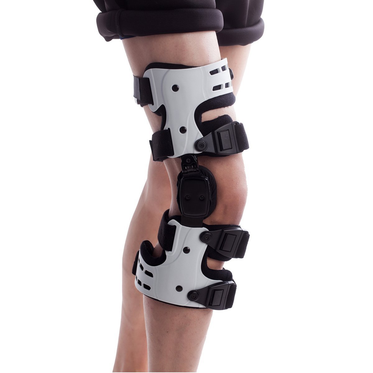 Orthomen OA Unloading Knee Brace for Osteoarthritis Lateral Off Loader Support - Size: Right