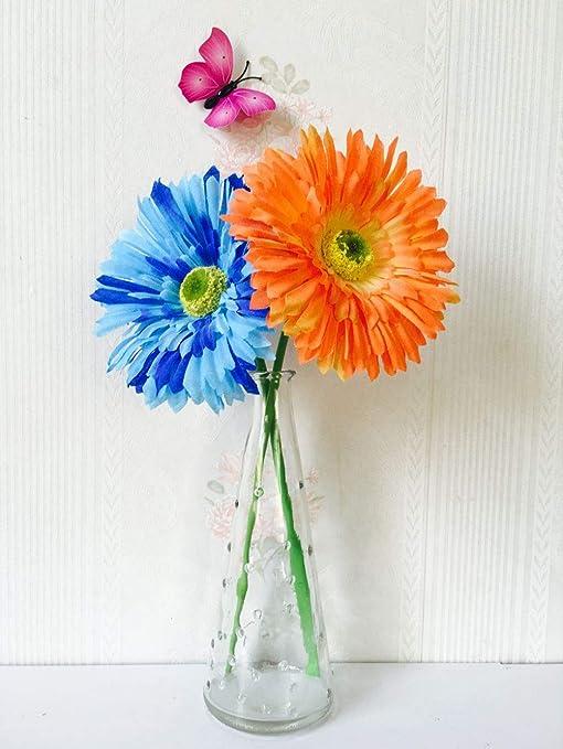 LXFLY Sienta Rosas Flor Artificial Conjunto de Botellas de ...