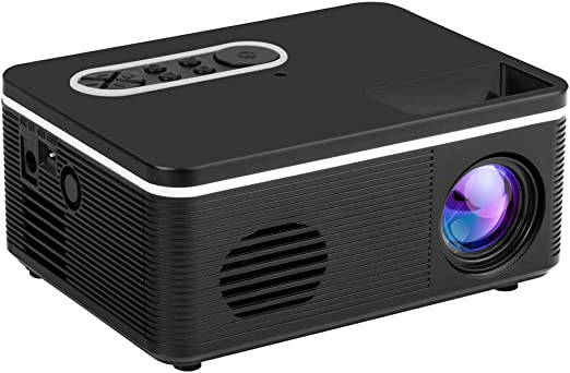TYY Proyector Pico Casero HD, Soporte 3D, Lente De Enfoque, Audio ...