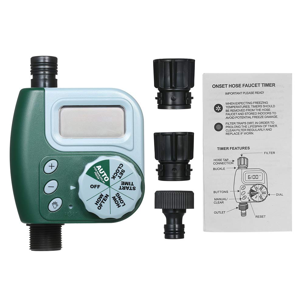 alpha-ene.co.jp Automatic Water Timer Outdoor Garden Irrigation ...
