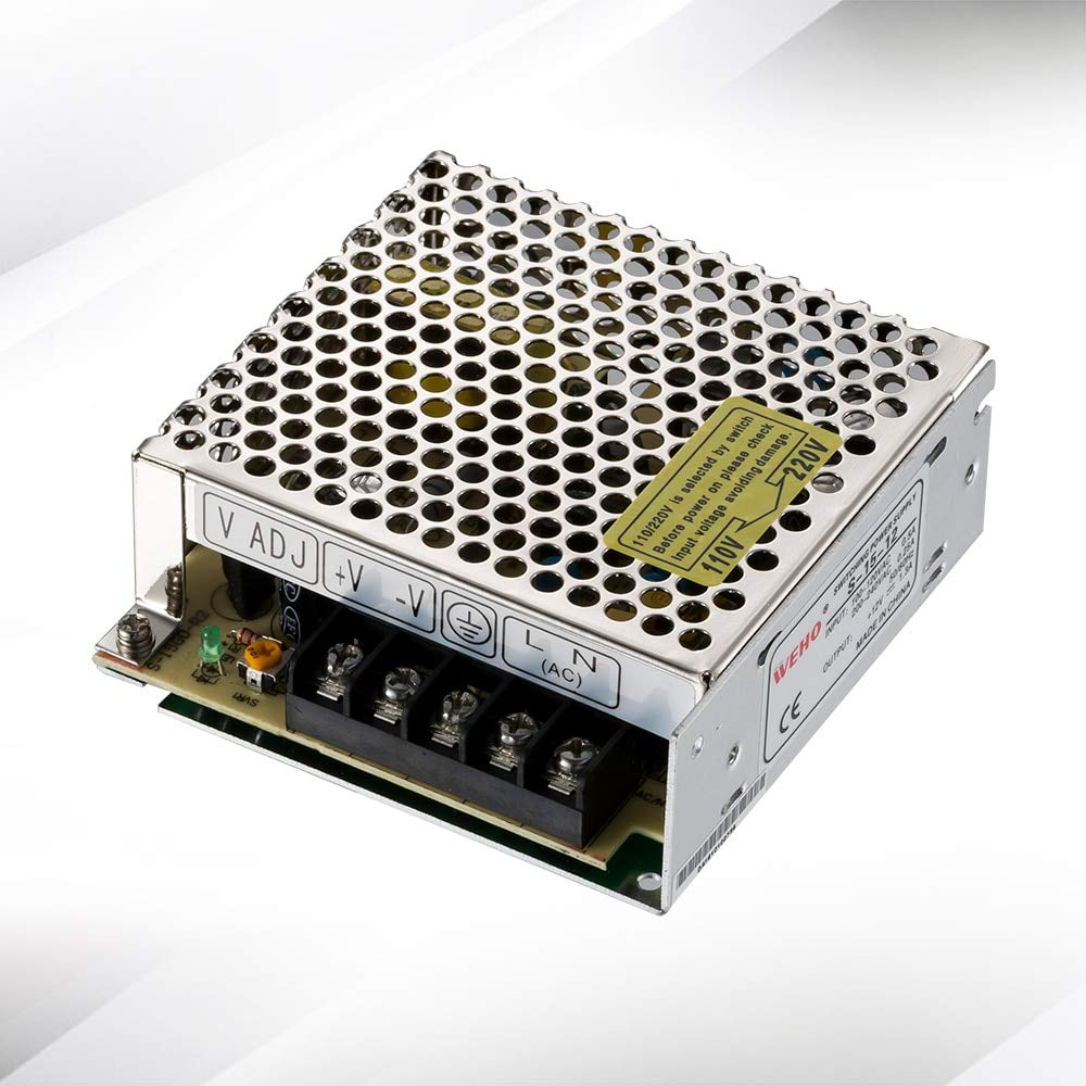 Factory Outlet 15W 110//220 VAC Input 1.3A 12 Volt DC Output Power Supply S-15-12 Utini