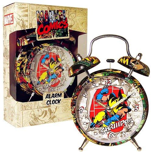Marvel Retro Wolverine Alarm Clock