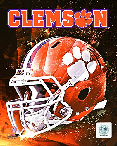 (Clemson University Tigers Helmet Composite Photo (Size: 8
