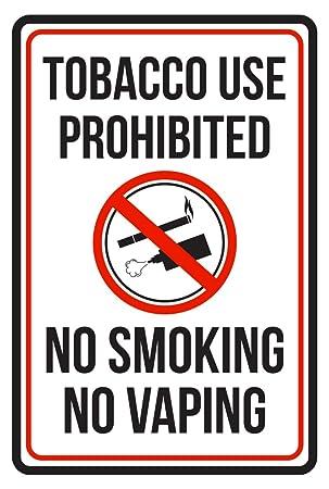 Consumo de tabaco prohibido no Smoking No verytea color rojo ...