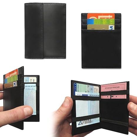 più amato d5053 ce1b7 LCDG Portafoglio Magico Nero in Simili Cuoio - Magic Wallet - Porta Moneta