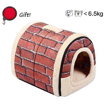 Enko 2 en 1 Cómodo Casa para Mascotas y Sofá, De Alta Calidad En Interiores