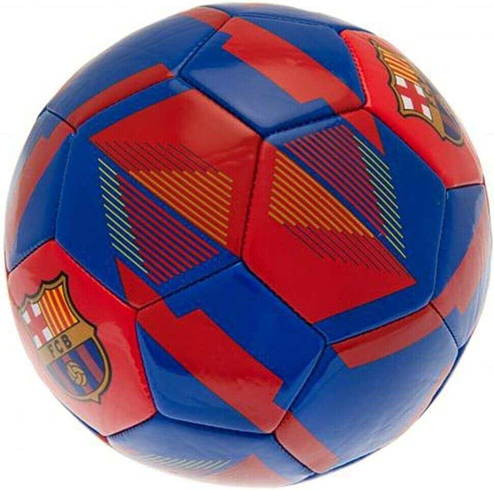 FC Barcelona Official Size 5 Ball Football RX