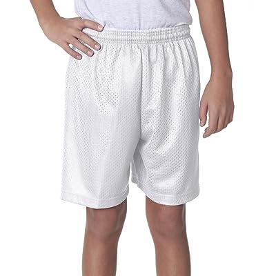 A4 Boy's Moisture-Management Mesh Shorts