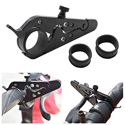 Motorcycle Throttle Assist Universal Cruise Control Wrist Hand Grip Lock Clamp with 2pcs Silicone Ring Protection for Motorcycle Sports Bikes: Automotive
