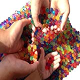 Water Beads, 2 oz pack (Almost 4,000 !!) Sooper Beads Crystal Soil Water Bead Gel [Rainbow Mix] For...