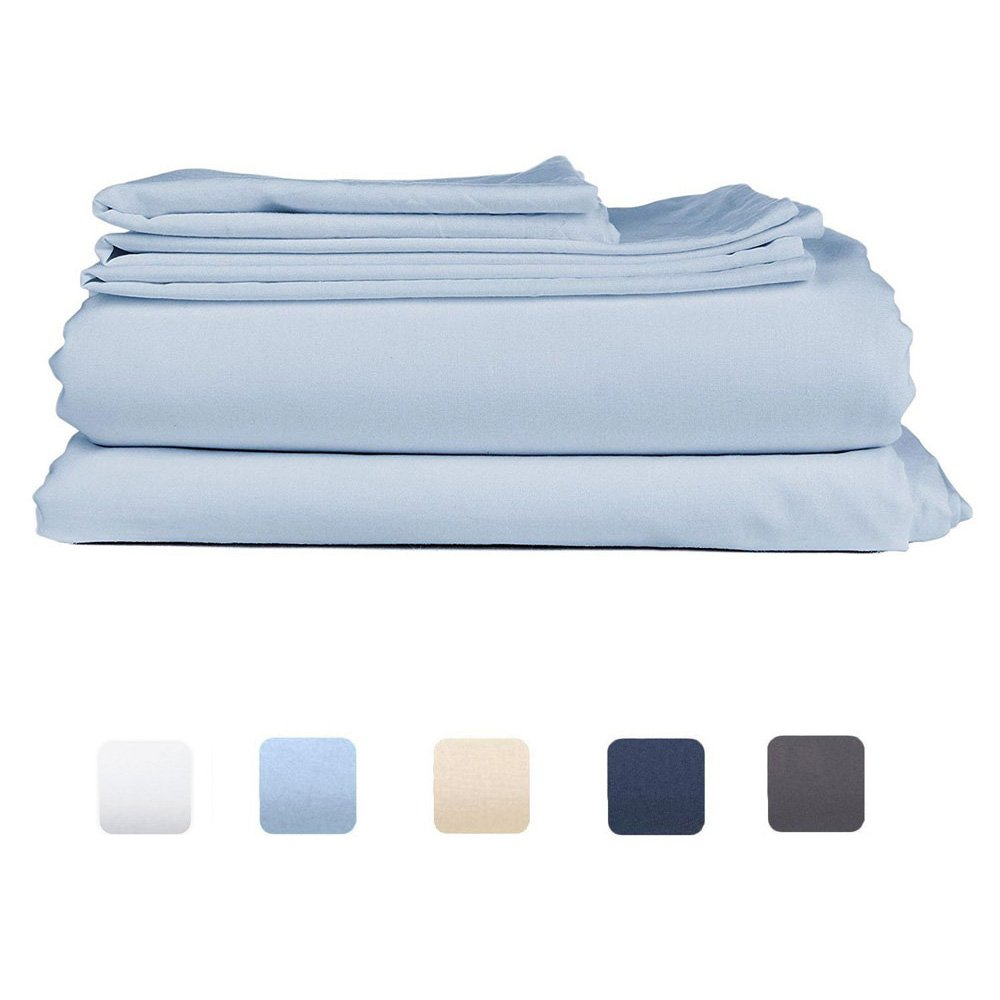Durable Modeling Fch Luxury Bed Sheet Set Brushed