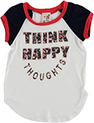 7a1af7919ad9 Lily Bleu Girls 4-6X Think Happy Thoughts Tee 6X