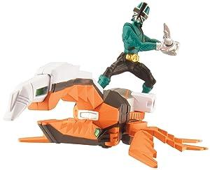 Power Ranger Zord Vehicle w/ Figure, BeetleZord with Green Ranger