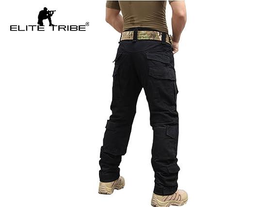 Homme Tenues de Combat Pantalon Militaire Paintball Gen2 Tactique Pantalon  et Genouillères Noir  Amazon.fr  Sports et Loisirs 5362d84ab48