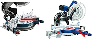 Bosch MS1233 Crown Stop Kit for Bosch Miter Saws, Includes Mounting Knobs and Hardware with Power Tools GCM12SD - 15 Amp 12 Inch Corded Dual-Bevel Sliding Glide Miter Saw with 60 Tooth S