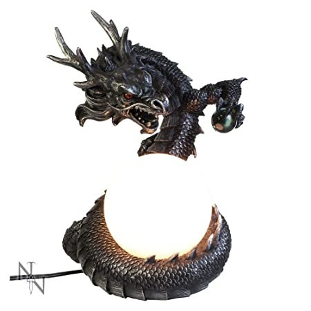 Elegant Nemesis Now   Mushu Dragon Lamp   26cm