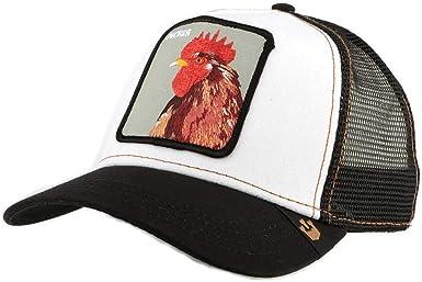 /Gorra con gallo de camionero en color negro para hombre//mujer Goorin Bros/