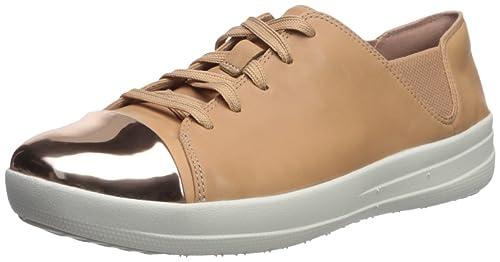 752215c624337 Fitflop Women s F-Sporty Mirror-Toe Sneakers  Amazon.co.uk  Shoes   Bags