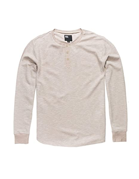 53f805fc31dd20 Rsq Vancouver Off White Henley Thermal, Off-White, Small at Amazon Men's  Clothing store:
