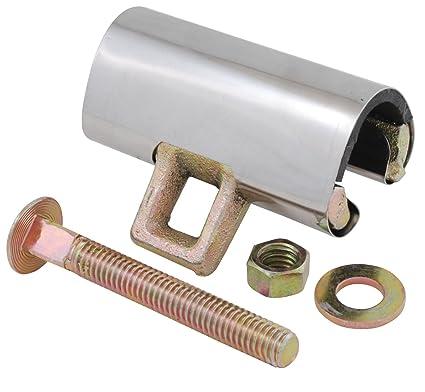 LDR Industries 6102216 Galvanized Brass Repair Clamp, 1/2