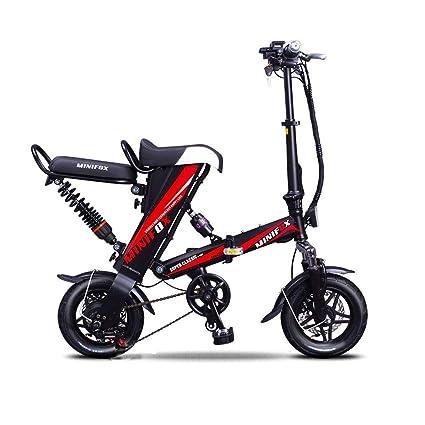 9d9ff555758 Mini Folding Electric Bike (Dual Saddles)– 350W Motor 8AH 48V Removable  Lithium-