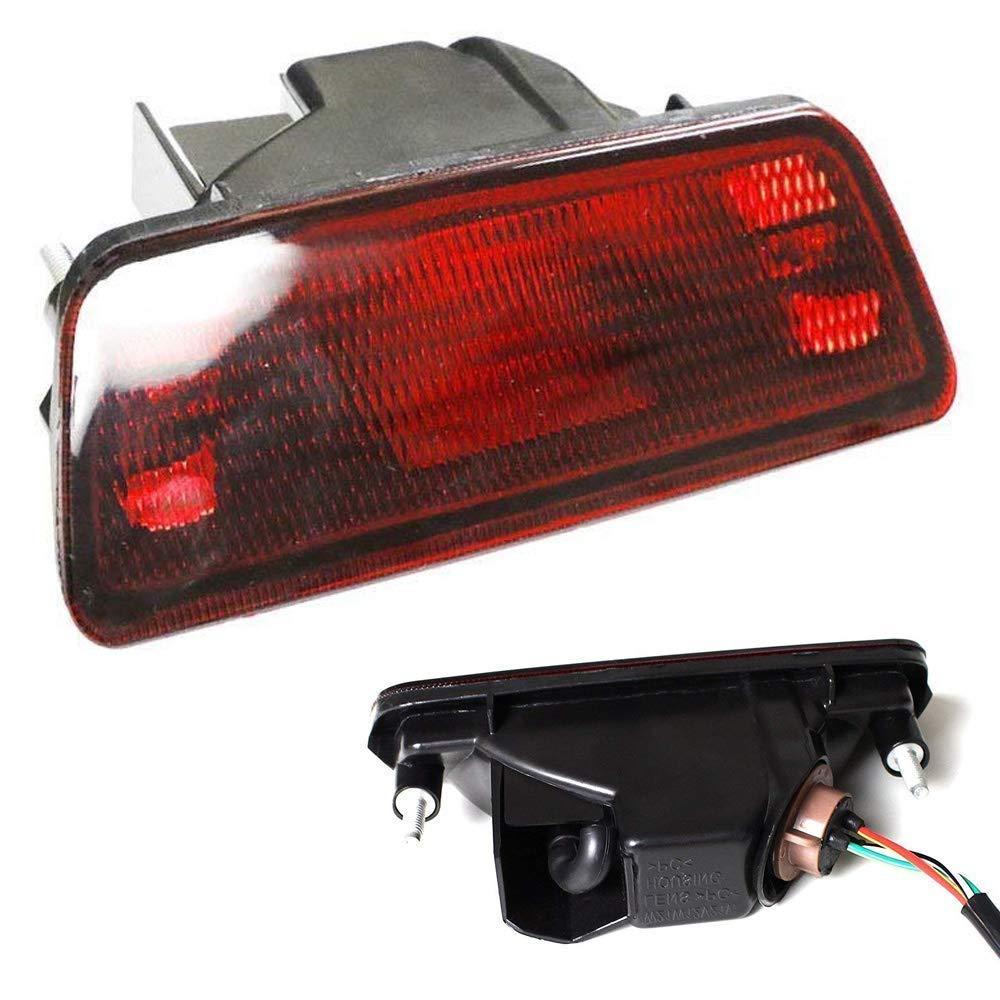 Amazon com: iJDMTOY JDM Style LED Rear Fog Light For 2011