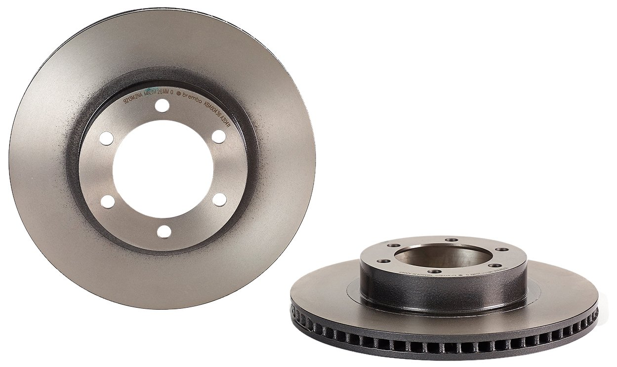 Brembo 09.A204.11 UV Coated Front Disc Brake Rotor