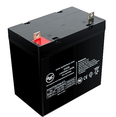 Batería de Sillas de ruedas de 12V 55Ah Golden Compass TRO ...