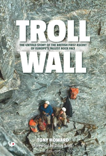 Wall Graphic Howard - Troll Wall: The Untold Story of the British First Ascent of Europe's Tallest Rock Face