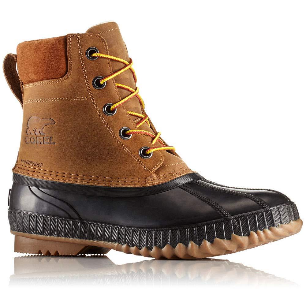 Sorel Men's 8 In. Cheyanne Ii Lace-Up Waterproof Duck Boots, Chipmunk 8