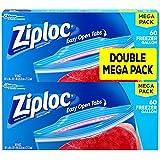 Ziploc Freezer Bags Gallon Mega Pack, 120 Count