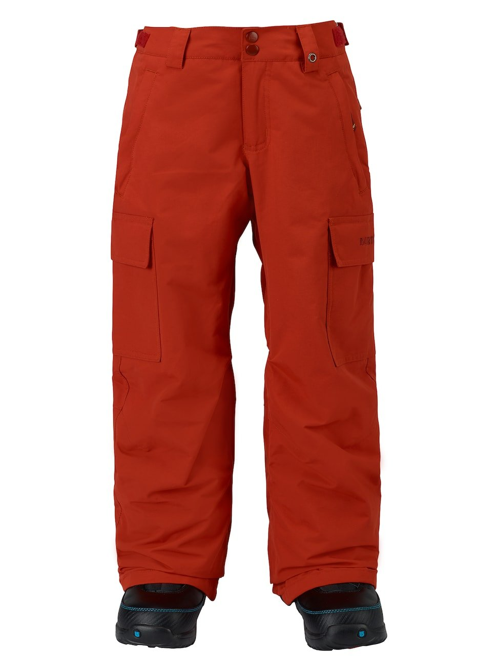 Burton Boys Exile Cargo Pants, Bitters, X-Small