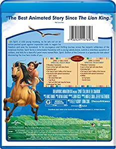 Spirit: Stallion of the Cimarron [Blu-ray] from Universal Pictures Home Entertainment
