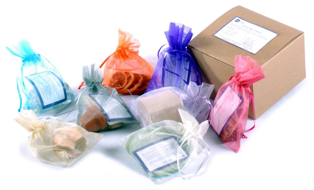 Juego de 8 bolsas sensoriales con actividades en caja de ...