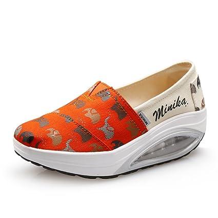 70eb25625f7bd Amazon.com: SHINIK Womens's Shoes New Comfortable Athletic Shoes ...