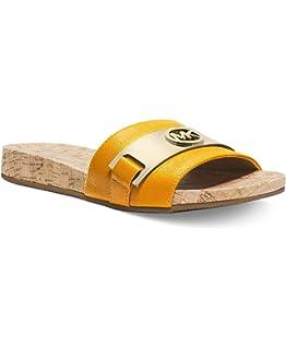 4ef9822a01a Michael Michael Kors Warren Slide Sandals Sun Size 6 M
