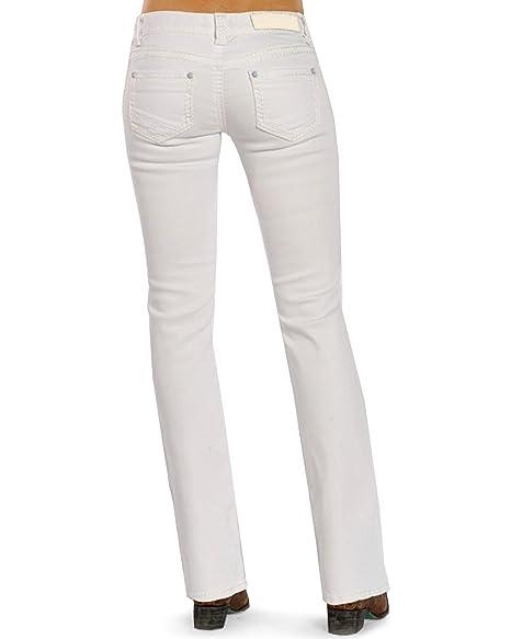 Amazon.com: Rock & Roll vaquera blanco granero Riding Jean ...